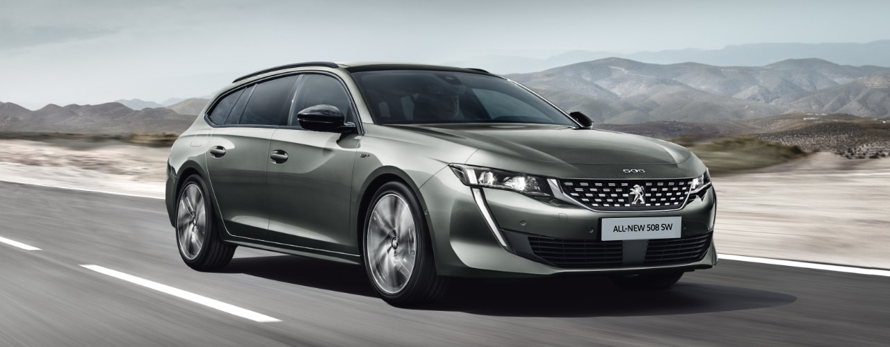 All new Peugeot 508 SW Image Comparator