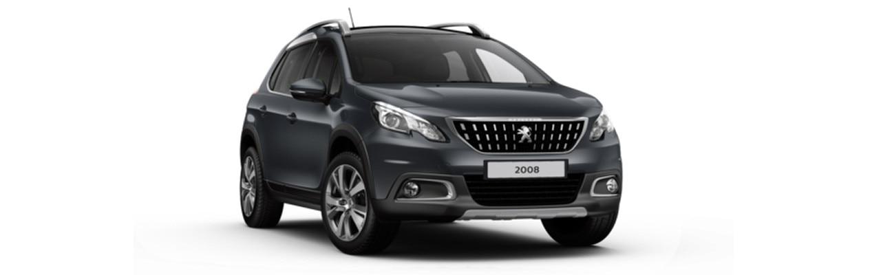 Peugeot 2008 SUV Allure Premium Hurricane Grey
