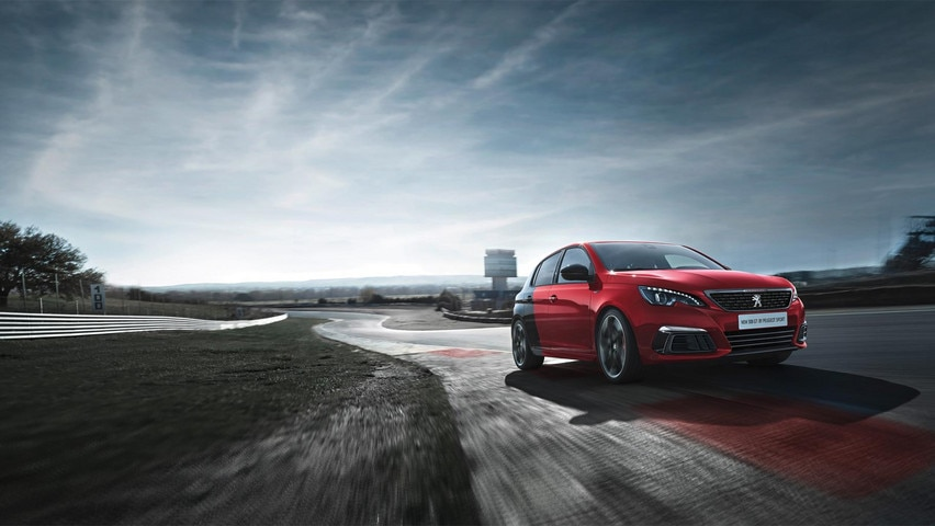 new 308 GTi by peugeot sport exterior