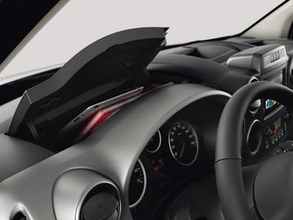 Peugeot Partner Tepee dashboard storage