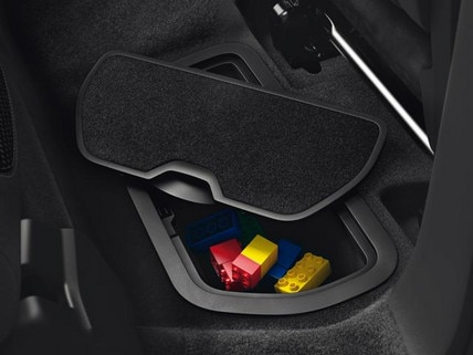 Peugeot Partner Tepee storage space
