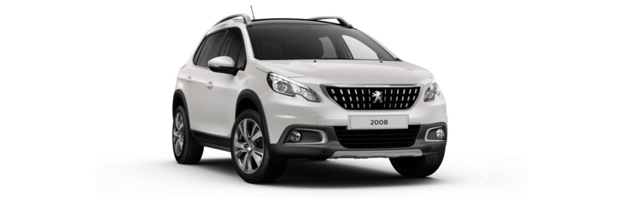 Peugeot 2008 SUV Allure Premium Pealescent White