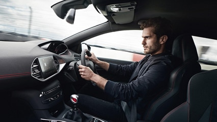 new 308 GTi by peugeot sport interior