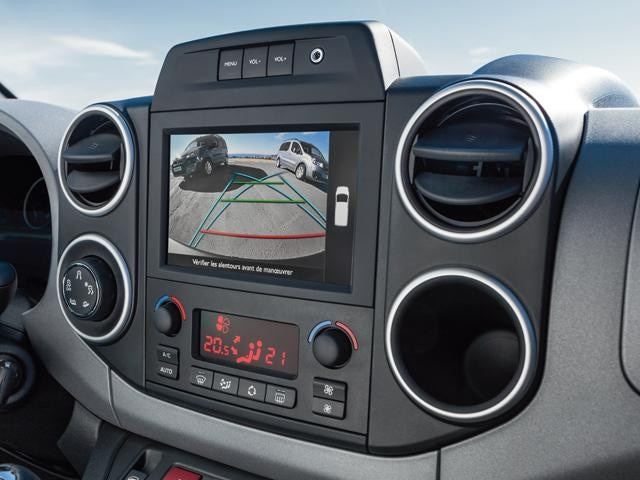 Peugeot Partner Tepee reversing camera