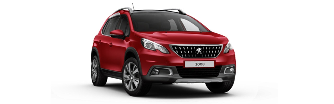 Peugeot 2008 SUV Allure Premium Ultimate Red