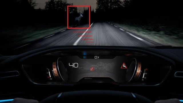 Peugeot 508 SW Night Vision