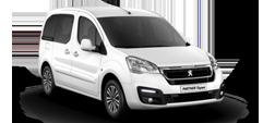Peugeot Partner Tepee white