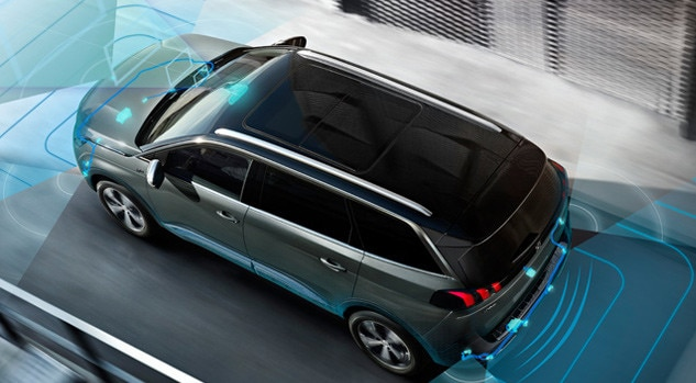 Peugeot 5008 SUV Front and Rear Parking Sensors