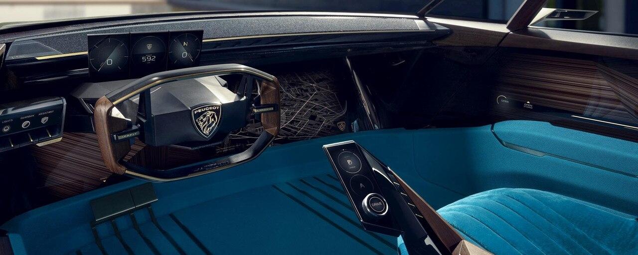 Peugeot E Legend Concept Uninhibited Gt