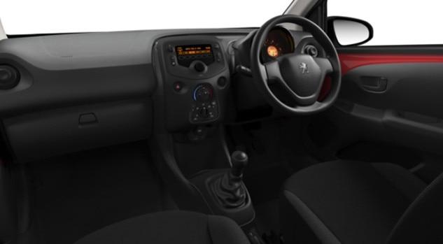 Peugeot 108 Access Interior