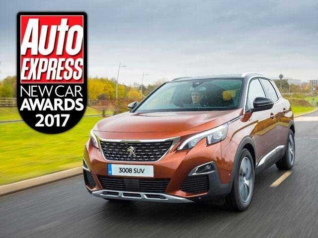 Peugeot 3008 SUV Auto Express Award