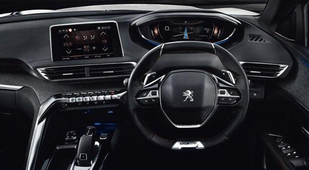 Peugeot 5008 SUV Interior Drive