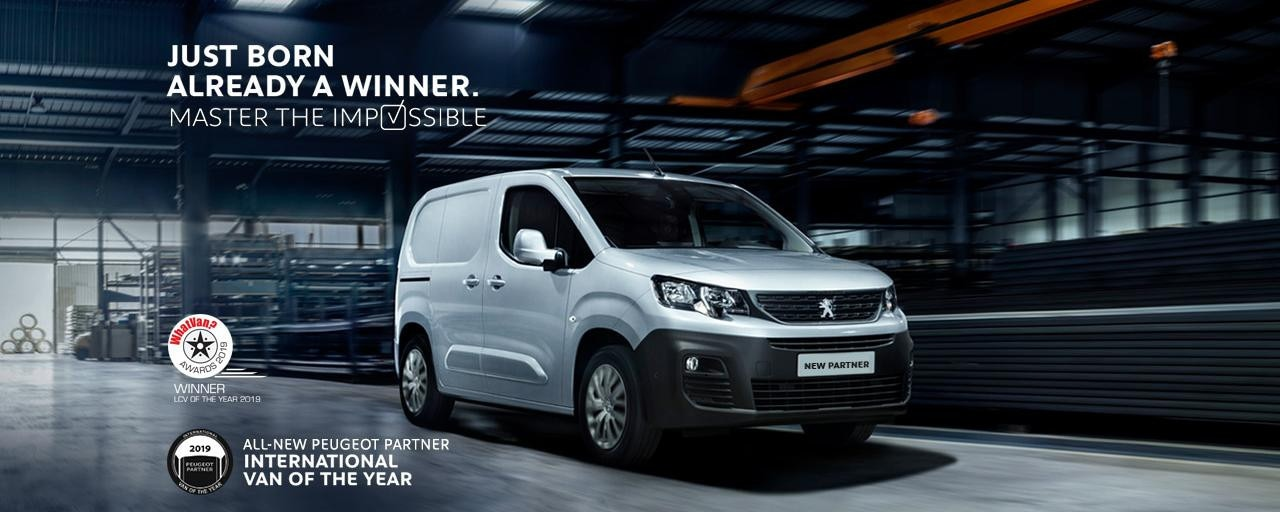 All-new Partner - What Van award