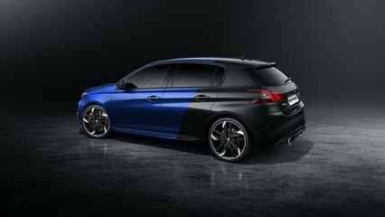 new 308 GTi by peugeot sport exterior rear