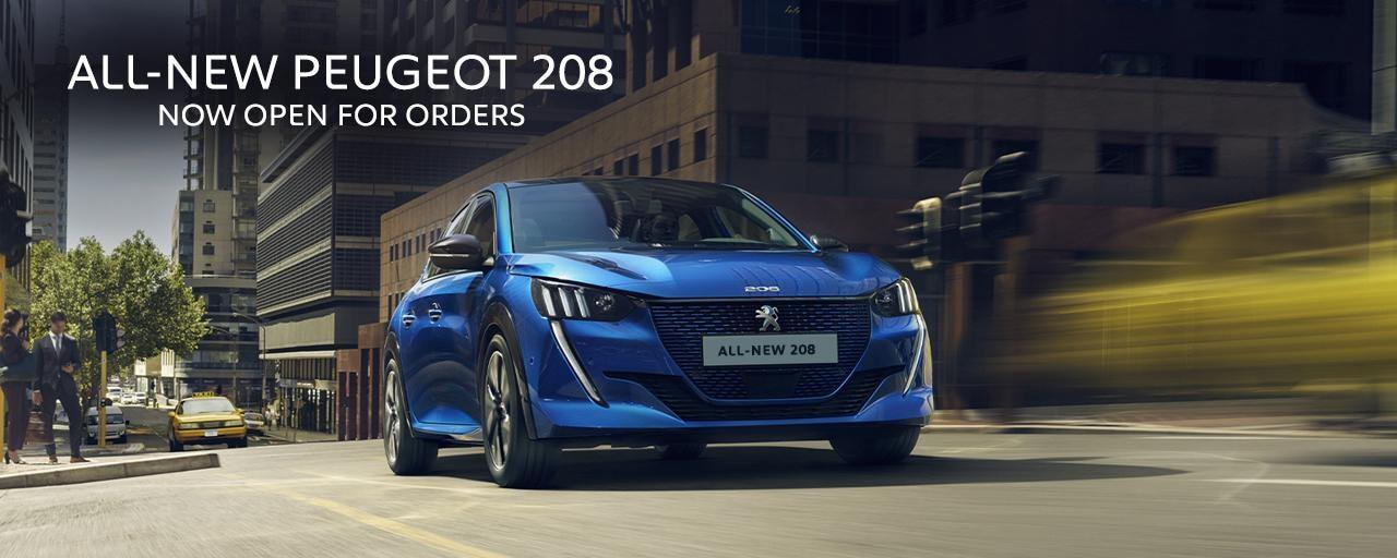 All-new PEUGEOT 208 - Petrol, Diesel or Electric - Blue