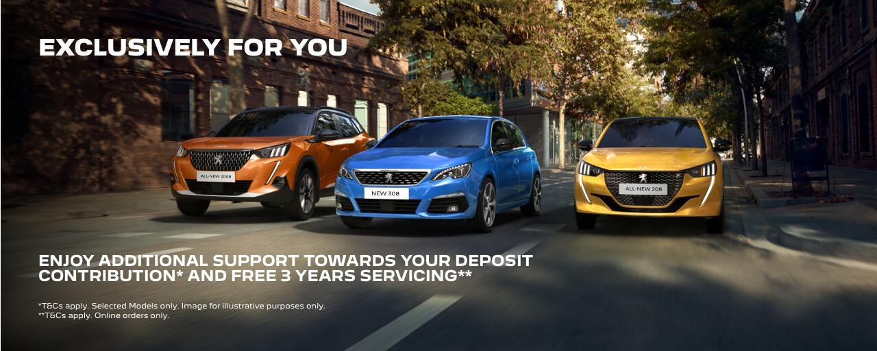 Peugeot exclusively for you
