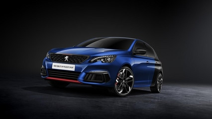 new 308 GTi by peugeot sport exterior front