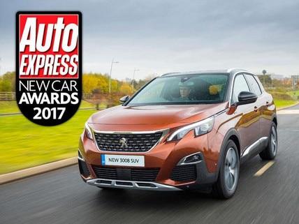 Peugeot 3008 SUV Autocar award