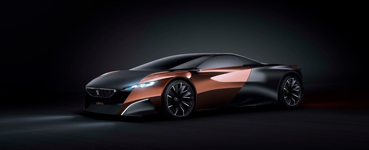 Peugeot Onyx: The Concept Car With A Smart Engine