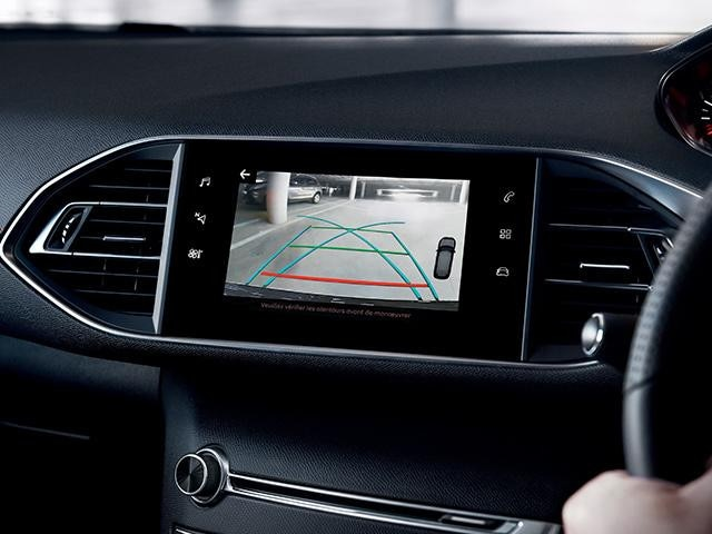 Peugeot new 308 colour reversing camera