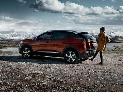 PEUGEOT 3008 HYBRID4 SUV: Hands-free tailgate