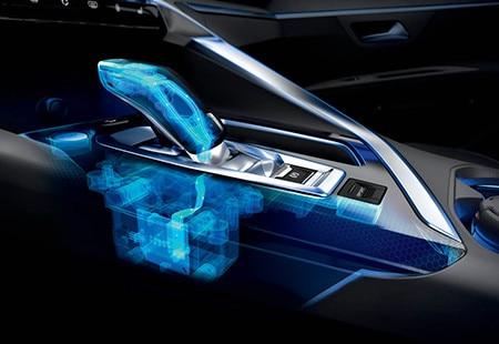 PEUGEOT 3008 HYBRID4 SUV: EAT8 gearbox