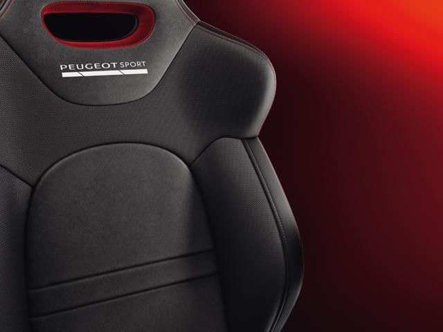 208 GTi by PS driving experience seat