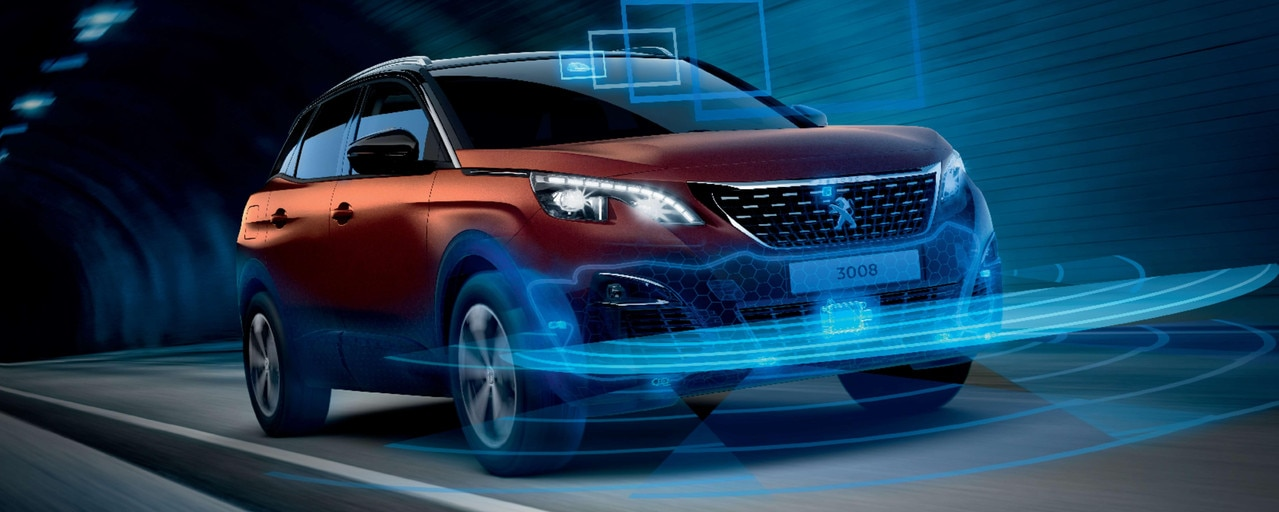 PEUGEOT 3008 HYBRID4 SUV: Safety and driving aids