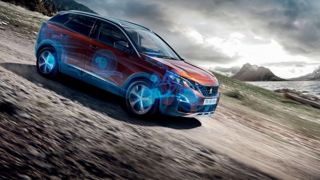 PEUGEOT 3008 HYBRID4 SUV: Advanced Grip Control