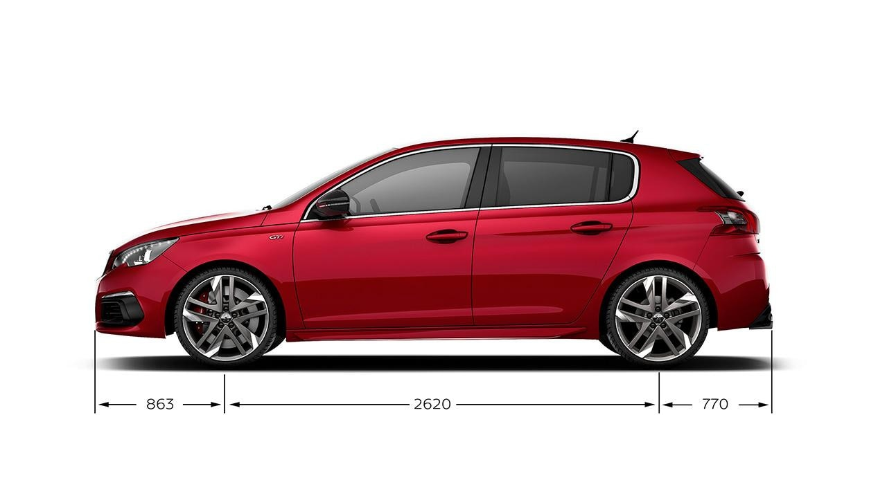 Peugeot 308 GTi by PS length 2017