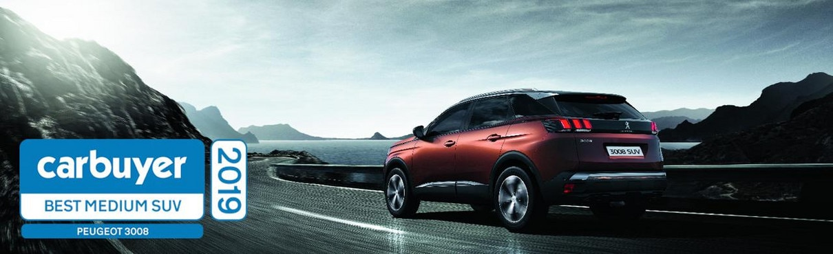 Best medium SUV - Peugeot 3008 SUV