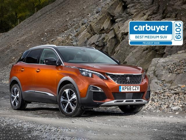 Peugeot 3008 SUV is the Best medium SUV of 2019