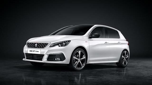 Peugeot 308 GT Line - White Hatchback Car