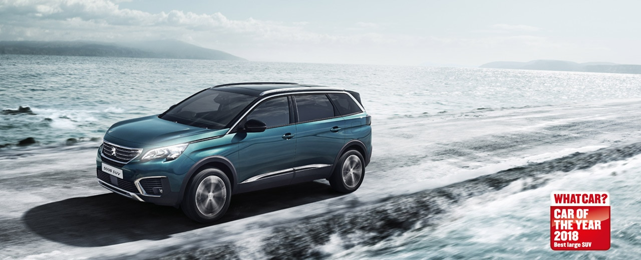 Peugeot 5008 SUV -  Car of the Year 2018