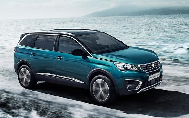 Peugeot 5008 SUV on Motability