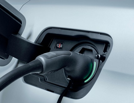 PEUGEOT 3008 SUV HYBRID4: Lights around the electric charging socket