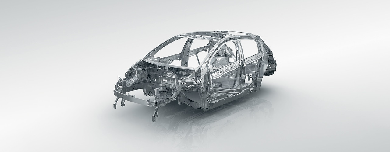 Peugeot 208 strong chassis frame