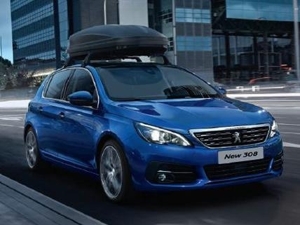 New Peugeot 308 with Accessories