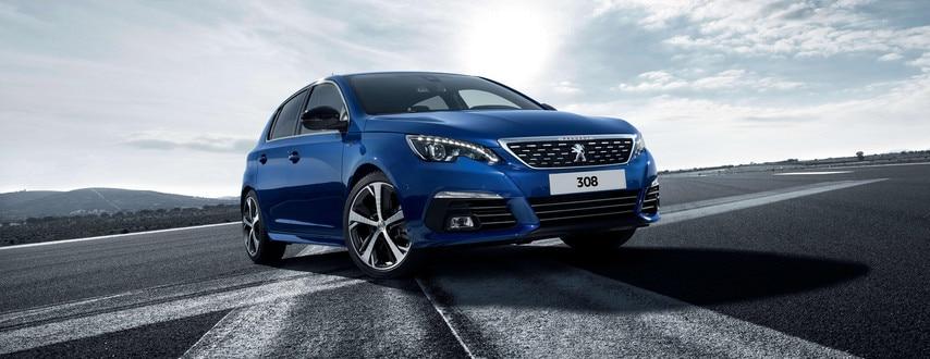 308 blue UK high resolution front
