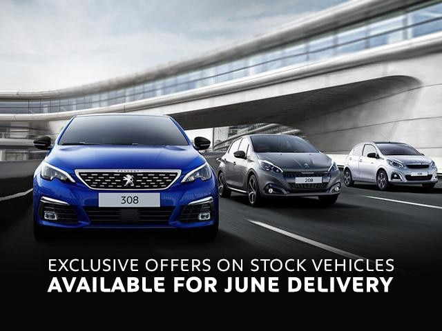 Peugeot June Stock Offers