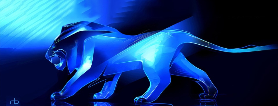 Peugeot Lion at Geneva motor show