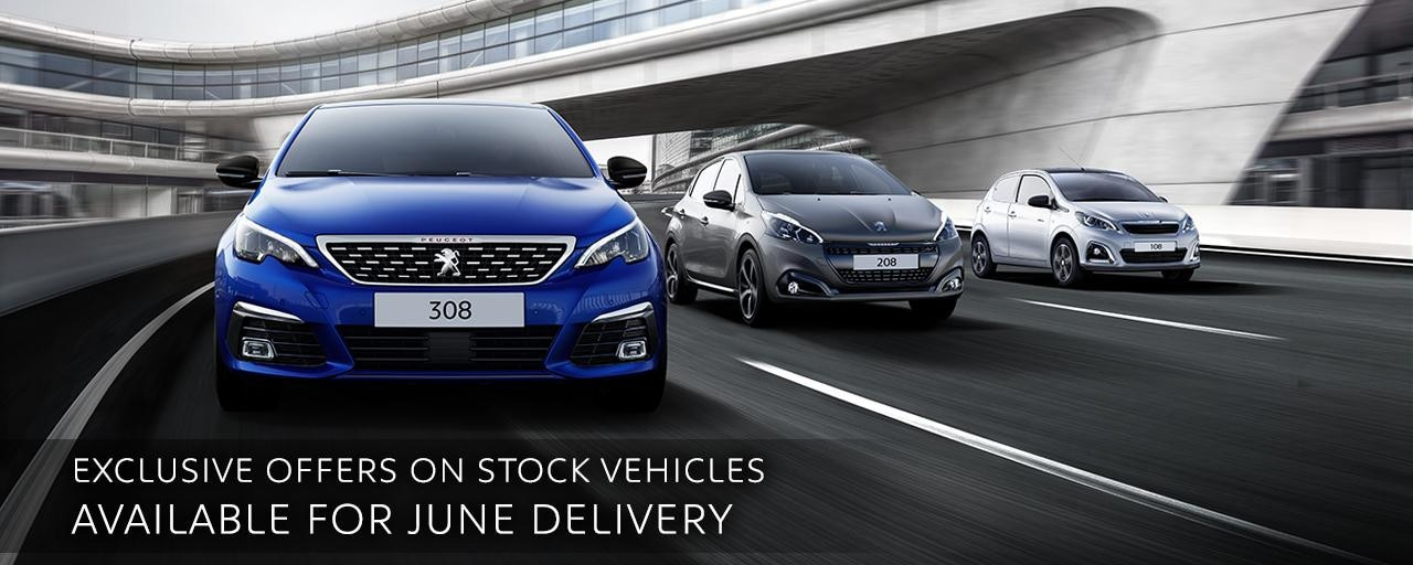 Stock Offers - Peugeot Range