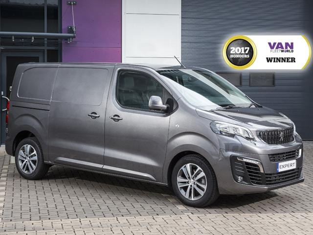 Peugeot Expert van fleet world award