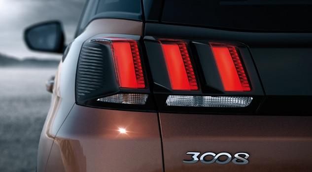 new 3008 suv rear lights