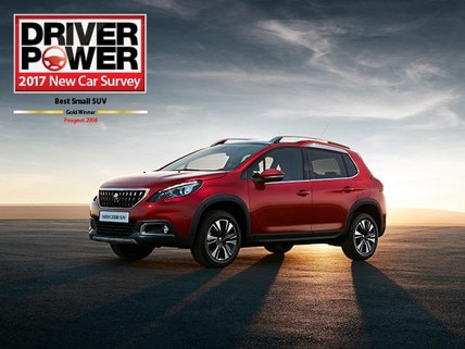 Peugeot 2008 SUV Driver Power award