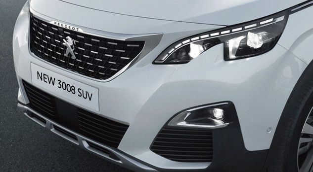 new 3008 suv sport front