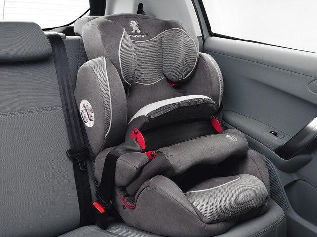 Peugeot 2008 SUV Isofix fittings