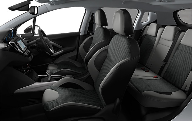 Peugeot 2008 SUV Space Seats