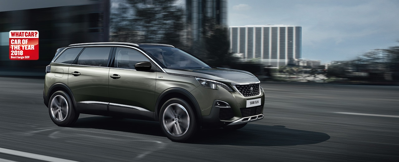 Peugeot 5008 suv gt line premium peugeot uk for Interior 5008 gt line
