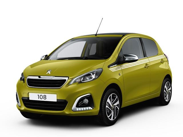 Peugeot 108 Green Collection Image